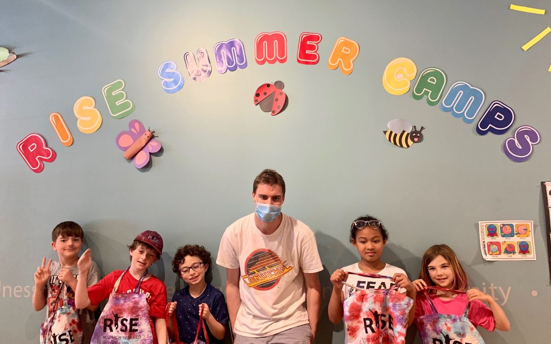 RISE Summer Camps Series: Reflections on the emotional investment of our camp counsellors