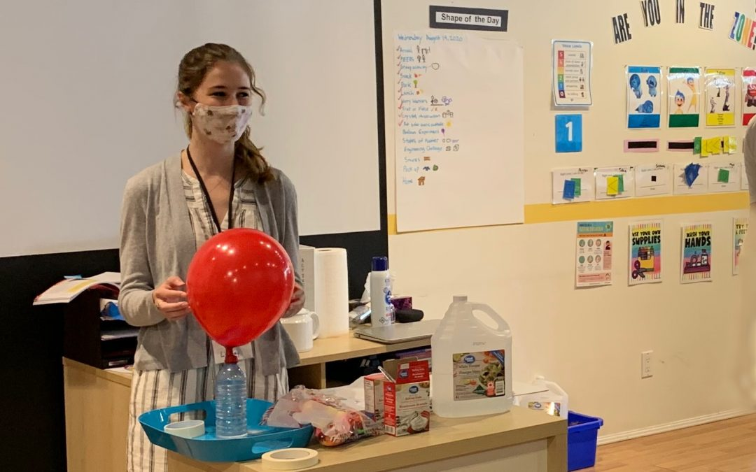 Summer Camp Reflections: Freaking Out About Science!
