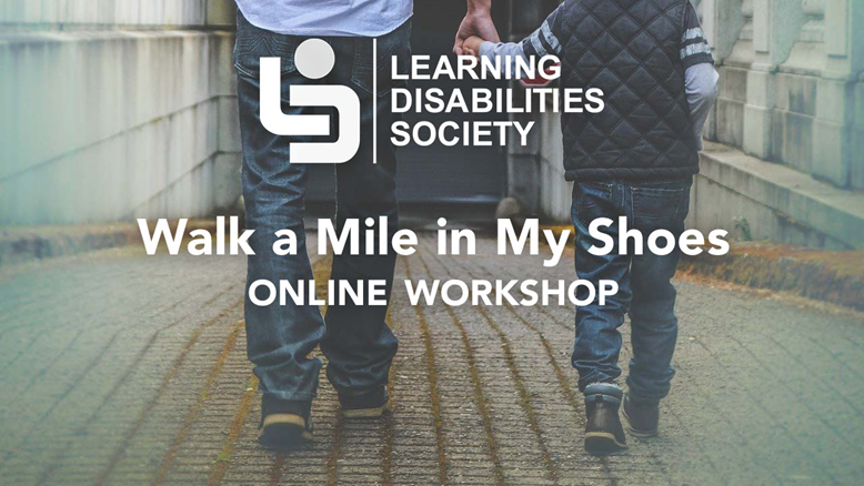 Walk a Mile in My Shoes Workshop on November 16th