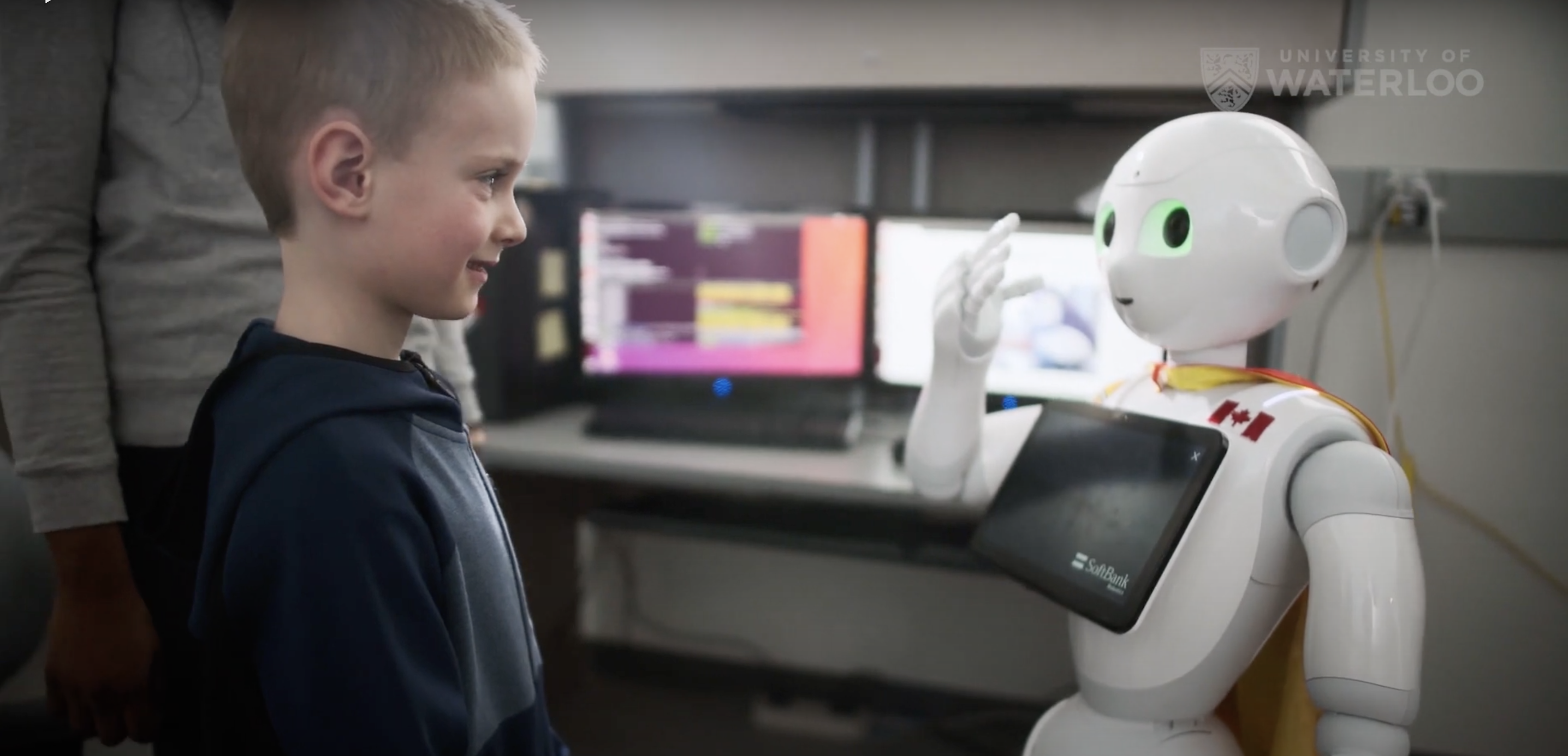 The Learning Disabilities Society Partners with the University of Waterloo to Study the Benefits of Social Robot Interaction with Children with Learning Disabilities