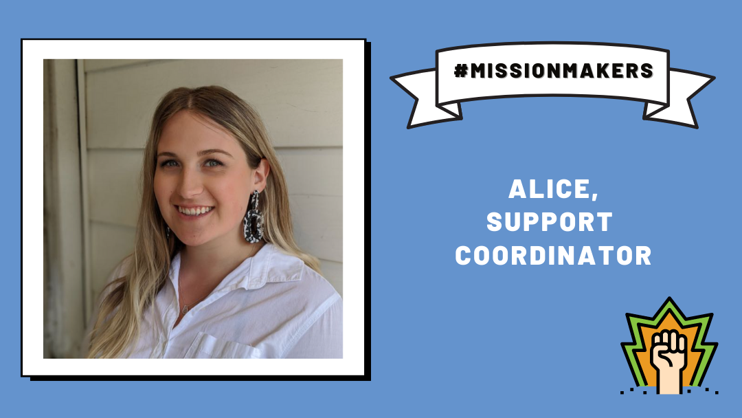 Mission Makers: Alice—connecting with kids!