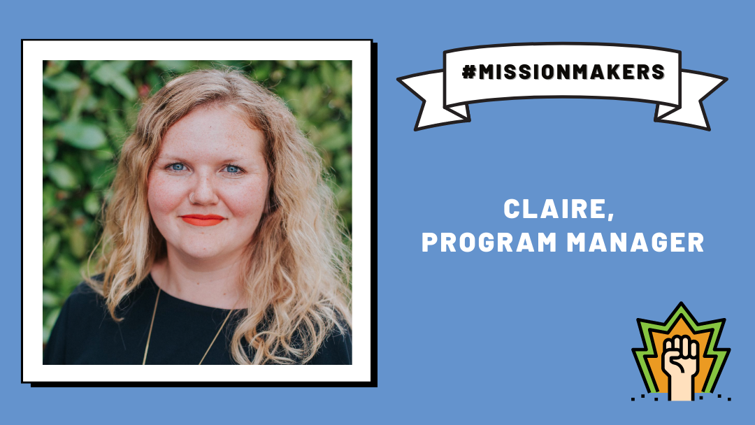 Mission Makers: Claire—advocating for accessibility