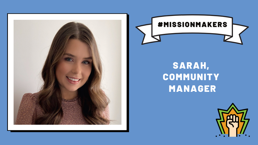 Mission Makers: Sarah—creating community at LDS
