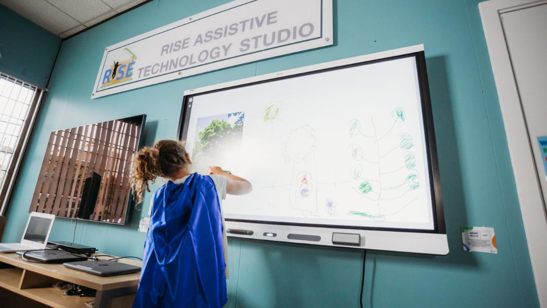 Our Assistive Technology Studio—a supportive space to enhance the learning experience for our students