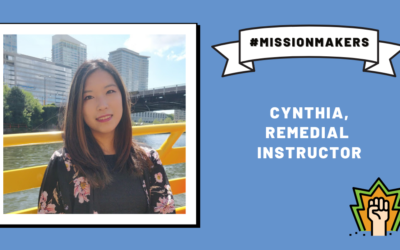 Mission Makers: Cynthia—making a difference through her work