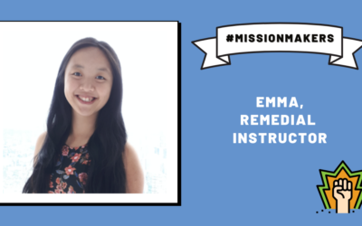 Mission Makers: Emma—giving back the support she received