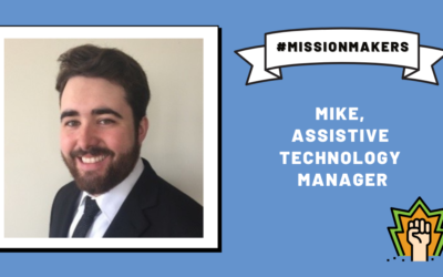 Mission Makers: Mike—helping families use assistive technology